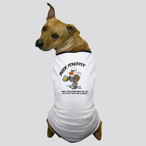 BEERPONG1 Dog T-Shirt