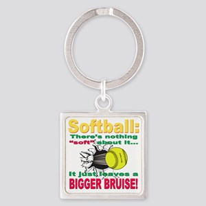 bigger bruise Square Keychain