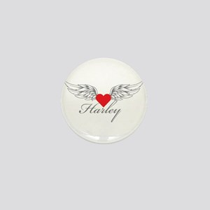 Angel Wings Harley Mini Button