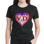 Happy VD Women's Dark T-Shirt