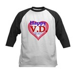 Happy VD Kids Baseball Jersey