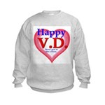Happy VD Kids Sweatshirt