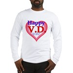 Happy VD Long Sleeve T-Shirt