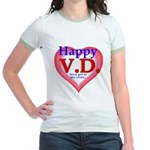 Happy VD Jr. Ringer T-Shirt
