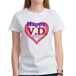 Happy VD Women's T-Shirt