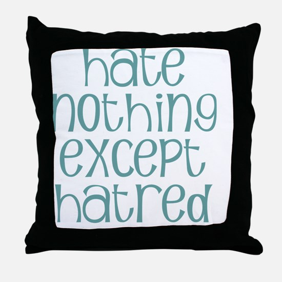 hatenot Throw Pillow