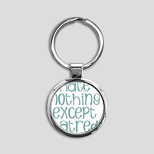 hatenot Round Keychain