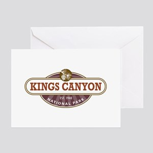 Kings Canyon National Park Greeting Cards