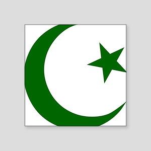 "pakistanD Square Sticker 3"" x 3"""