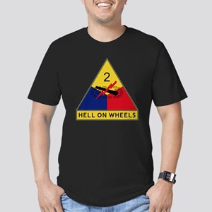 2nd Armored Division - Men's Fitted T-Shirt (dark)