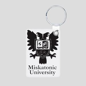 MU Heraldic Crest Aluminum Photo Keychain