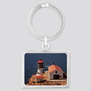 Point Reyes Lighthouse Landscape Keychain