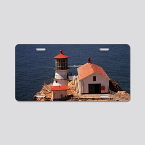 Point Reyes Lighthouse Aluminum License Plate