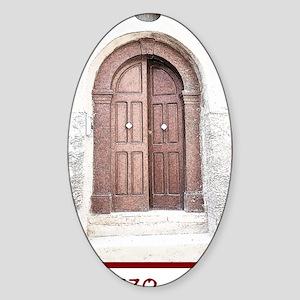 Doorway Sticker (Oval)