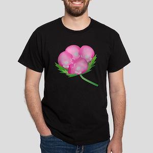 Skull Carnation Dark T-Shirt