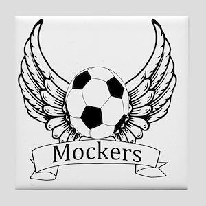Mockers Angel 2 Tile Coaster