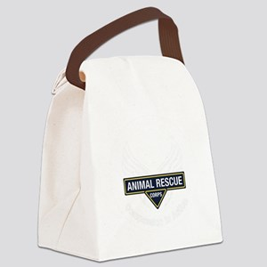 ARC_logo_white_tagline Canvas Lunch Bag