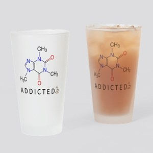 Caffeine-Addicted Drinking Glass