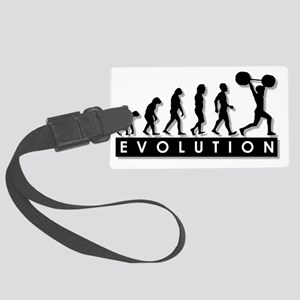 evolution-weightlifting Large Luggage Tag