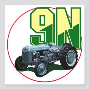 "Ford9N-C8trans Square Car Magnet 3"" x 3"""