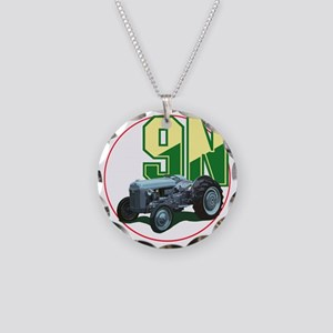 Ford9N-C8trans Necklace Circle Charm