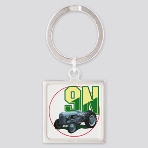 Ford9N-C8trans Square Keychain