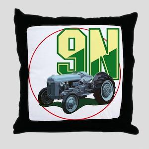 Ford9N-C8trans Throw Pillow