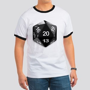 d20 t-shirt Ringer T
