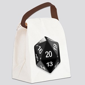 d20 t-shirt Canvas Lunch Bag