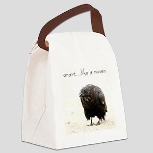 ravenonsey_edited-1 Canvas Lunch Bag