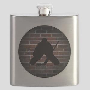 Hockey Goalie Flask