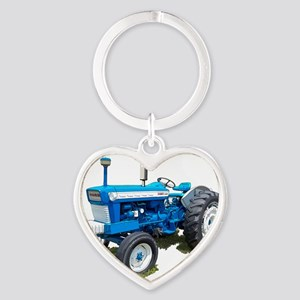Ford5000-10 Heart Keychain