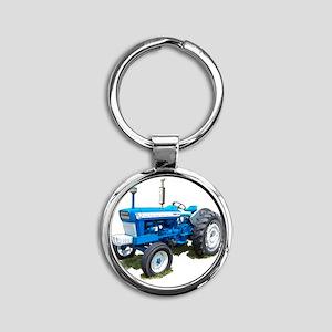 Ford5000-10 Round Keychain