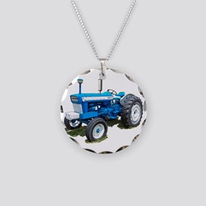 Ford5000-10 Necklace Circle Charm