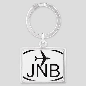 johannesburg airport Landscape Keychain