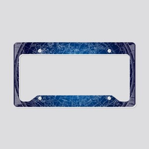 Celestial Wall Map License Plate Holder