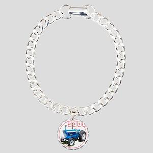 Ford5000-C8trans Charm Bracelet, One Charm