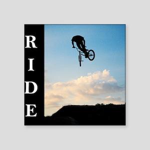 """RIDE Square Sticker 3"""" x 3"""""""