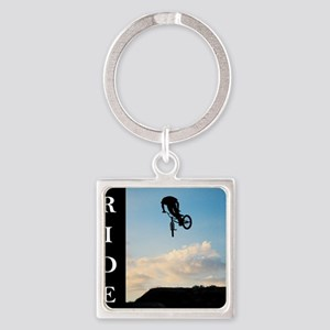 RIDE Square Keychain