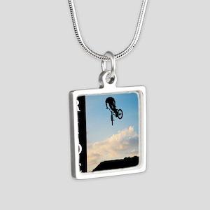 RIDE Silver Square Necklace