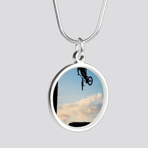 RIDE Silver Round Necklace