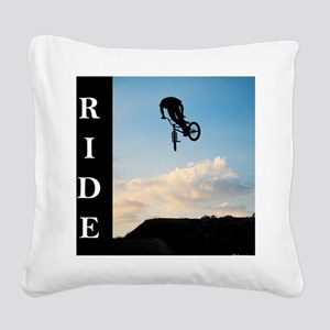 RIDE Square Canvas Pillow