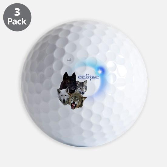 Twilight Eclipse Wolf Pack Neon blue No Golf Ball
