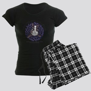 adoptionsavesbunnies-PLUMtot Women's Dark Pajamas