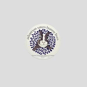 adoptionsavesbunnies-PLUMtotebag Mini Button