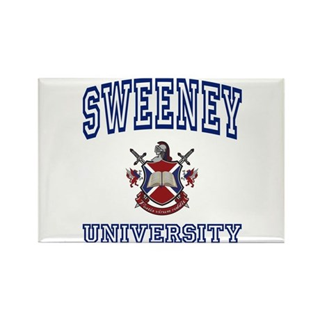 SWEENEY University Rectangle Magnet (10 pack)