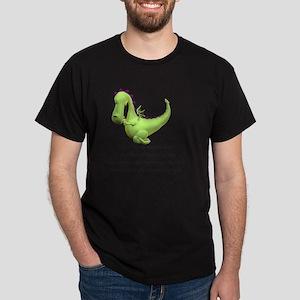 dragon praying Dark T-Shirt