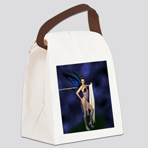 color guard fairy Canvas Lunch Bag