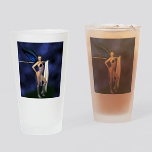 color guard fairy Drinking Glass