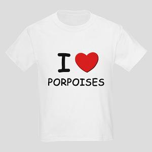 I love porpoises Kids T-Shirt